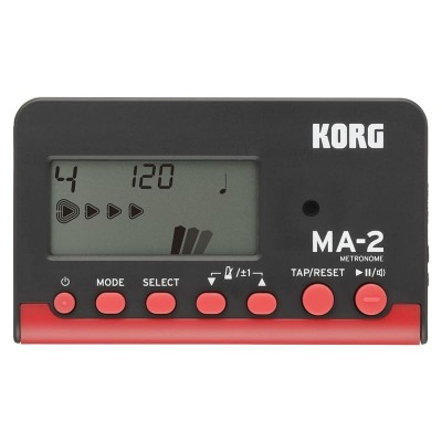 Korg MA2 Metronomo Red Black