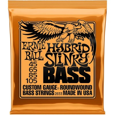 Ernie Ball 2833 Hybrid Slinky Bass 45-105