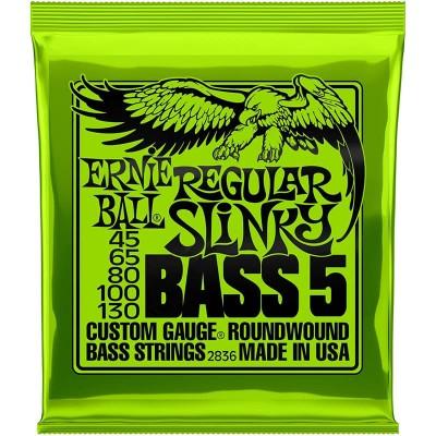 Ernie Ball 2836 Regular Slinky Bass 45-130