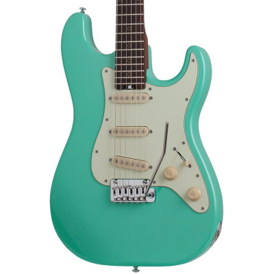Schecter Nick Johnston Traditional SSS - Atomic Green