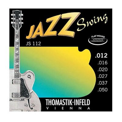 Thomastik-Infeld Jazz Swing JS112 Flat Wound 12-50