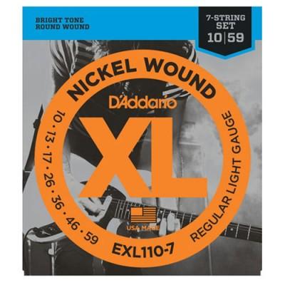 D'Addario EXL110-7 String...