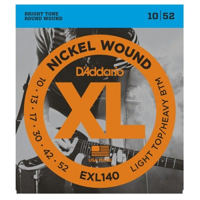 D'Addario EXL140 Light Top...