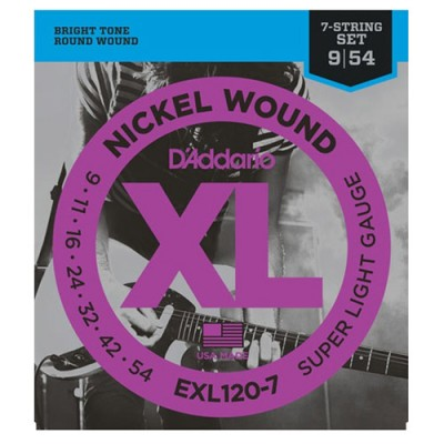 D'Addario EXL120-7 String...